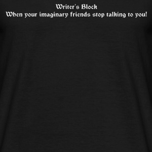 Writer's Block - Men's T-Shirt
