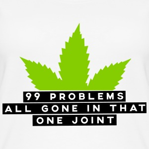 99 problems all gone in that one joint Tops - Frauen Bio Tank Top