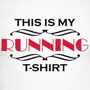 This is my running T-Shirt Long sleeve shirts - Men's Long Sleeve Baseball T-Shirt