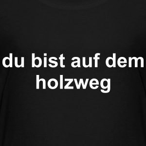Holzweg T-Shirts - Teenager Premium T-Shirt