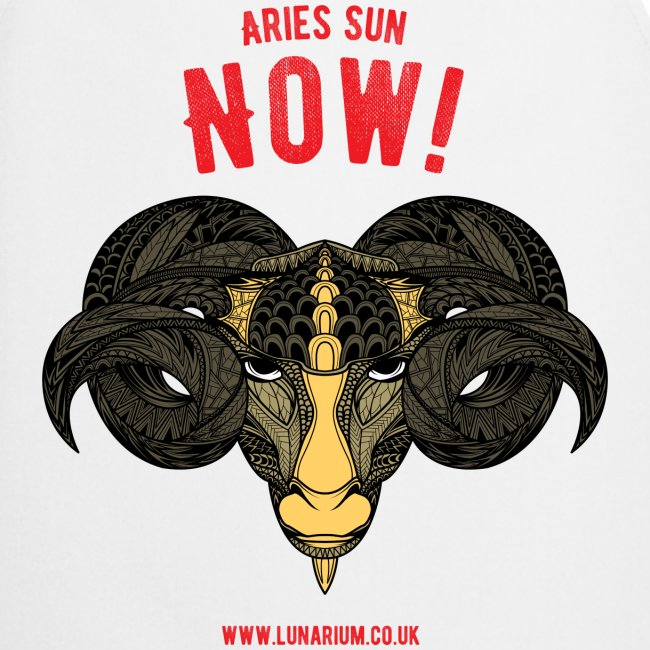 Aries Sun Cooking Apron