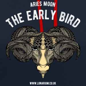 Aries Moon Contrast Colour Hoodie - Contrast Colour Hoodie