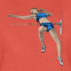 high jump T-shirts - Vrouwen Premium T-shirt