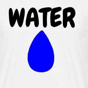 WATER - Mannen T-shirt