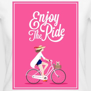 ENJOY THE RIDE - 816 - 1 T-Shirts - Frauen Bio-T-Shirt
