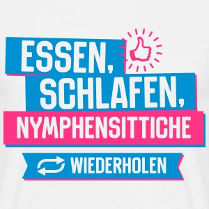 Hobby Nymphensittiche T-Shirts - Männer T-Shirt