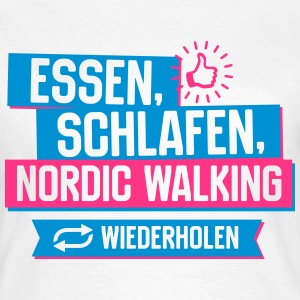 Hobby Nordic Walking T-Shirts - Frauen T-Shirt