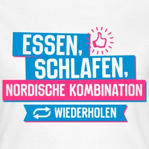 Nordische Kombination T-Shirts - Frauen T-Shirt