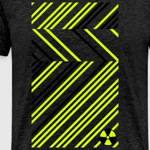 Radioactive Abstract Radioaktiv Abstrakt Muster T-Shirts - Männer Premium T-Shirt