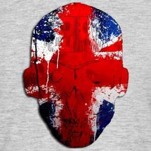 Borg recordings uk Union flag MetaSkull T Shirt - Men's T-Shirt