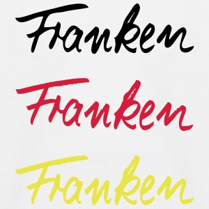 Triple Franken T-Shirts - Kinder Baseball T-Shirt