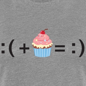 Formula For Happiness (Cupcake) T-Shirts - Frauen Premium T-Shirt