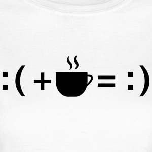 Formula For Happiness (Coffee) T-shirts - Dame-T-shirt