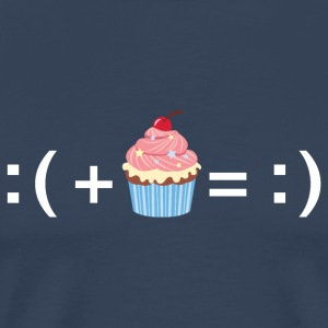 Formula For Happiness (Cupcake) T-Shirts - Männer Premium T-Shirt