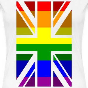 Pride UK Ladies - Women's Premium T-Shirt