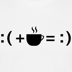Formula For Happiness (Coffee) Tee shirts - T-shirt Homme