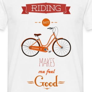 RIDING - 816 - 3 T-Shirts - Männer T-Shirt