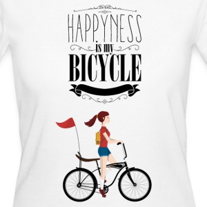 HAPPYNESS - 816 - 1 T-Shirts - Frauen Bio-T-Shirt