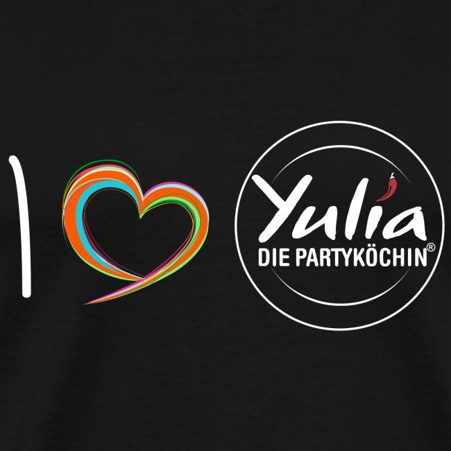 I Love Yulia Shirt Mann