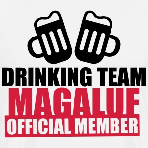 T-shit DRINKING TEAM MAGALUF - Men's Premium T-Shirt
