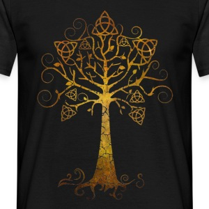 Golden Life tree - Men's T-Shirt