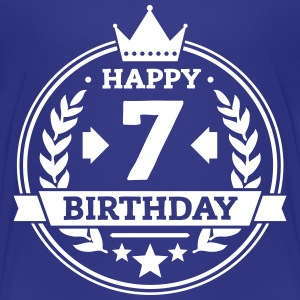 Happy 7. Birthday T-Shirts - Kinder Premium T-Shirt