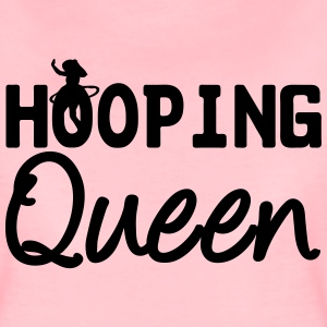 Hooping Queen (Hula Hoop) - Women's Premium T-Shirt