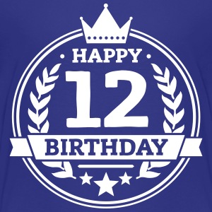 Happy 12. Birthday T-Shirts - Teenager Premium T-Shirt