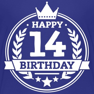 Happy 14. Birthday T-Shirts - Teenager Premium T-Shirt