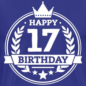 Happy 17. Birthday T-Shirts - Männer Premium T-Shirt