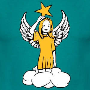 star angel wings sweet T-Shirts - Men's T-Shirt