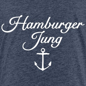 Hamburger Jung Anker Classic Teenager T-Shirt - Teenager Premium T-Shirt