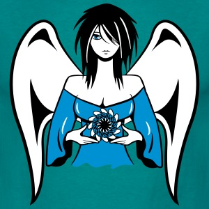 Angel wings sexy cute gothic T-Shirts - Men's T-Shirt