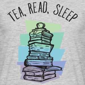 Tea, Read, Sleep T-shirts - T-shirt herr