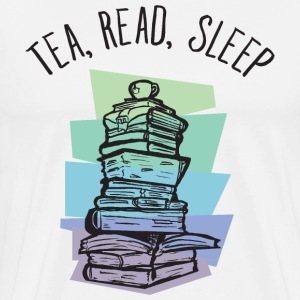 Tea, Read, Sleep T-shirts - Premium-T-shirt herr