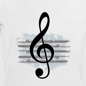 The G Clef - Women's Ringer T-Shirt