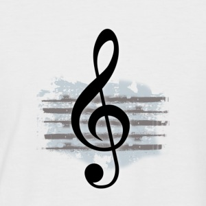 G Clef - Men's Baseball T-Shirt