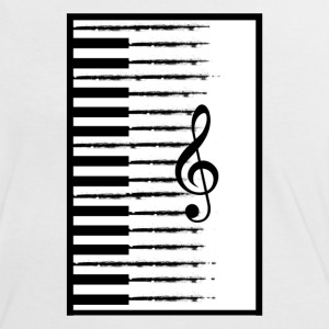 Piano Keys - Women's Ringer T-Shirt