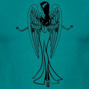 Angel wings grace sexy T-Shirts - Men's T-Shirt