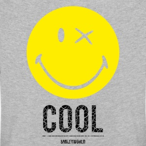 SmileyWorld Cool Smiley - Børne premium T-shirt med lange ærmer