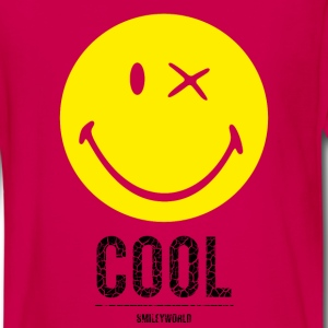 SmileyWorld Cool Smiley - Maglietta Premium a manica lunga per teenager