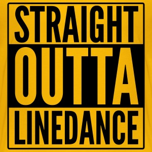 STRAIGHT OUTTA LINEDANCE T-Shirts - Kinder Premium T-Shirt