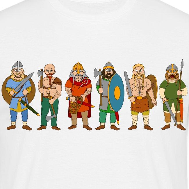 Viking Warriors (Front)