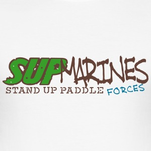 sup_marines_vec_3 de T-Shirts - Männer Slim Fit T-Shirt