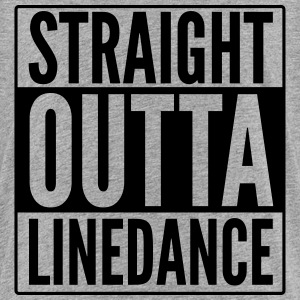 STRAIGHT OUTTA LINEDANCE T-Shirts - Teenager Premium T-Shirt