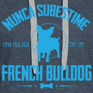 NS French Bulldog Pullover & Hoodies - Frauen Premium Hoodie