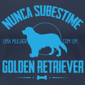 NS Golden Retriever T-Shirts - Frauen Premium T-Shirt