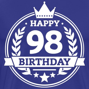 Happy 98. Birthday T-Shirts - Männer Premium T-Shirt
