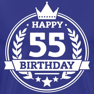 Happy 55. Birthday T-Shirts - Männer Premium T-Shirt