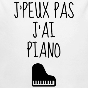 Piano - Pianist - Music - Musik - Musique Baby Bodysuits - Longlseeve Baby Bodysuit